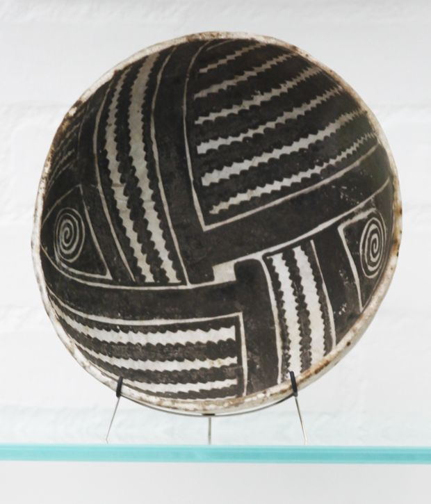 Pre-Colombian patterns at the Louisiana