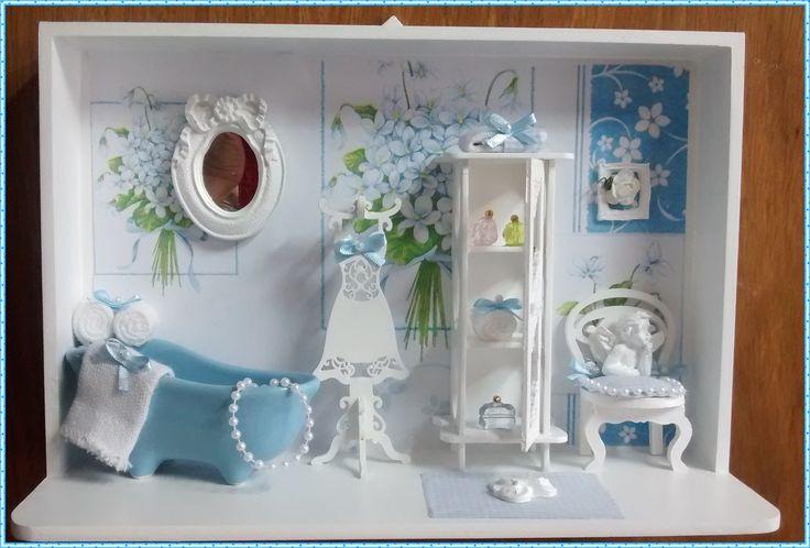 cenario bathroom blue