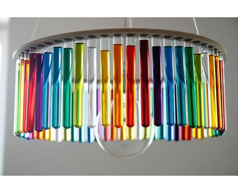 54 Colorfully Chic Chandeliers -  From Sweet Suspended Lights to Fancily Boozed Fixtures #decor #design