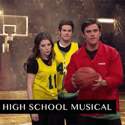 """Zac Efron Does A """"High School Musical"""" Recreation On The Late Late Show"""