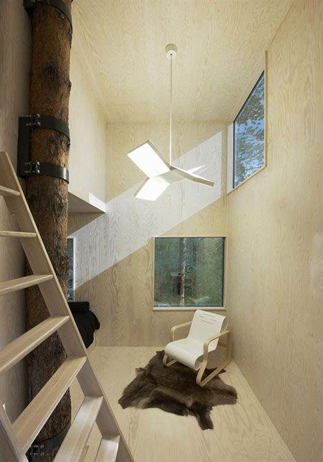 Tree Hotel by Tham and Videgard Arkitekter