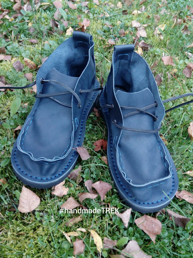 Color ideas for handmade leather moccasins by TREK