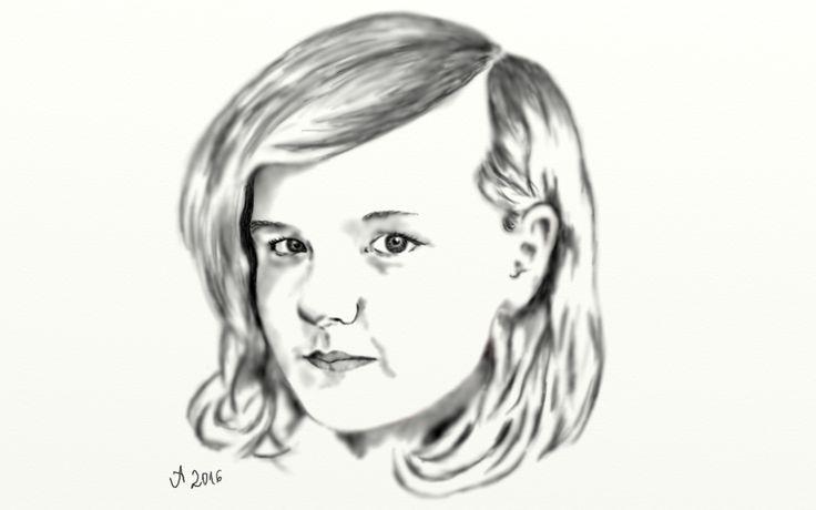 Anna (ceruza) 2016