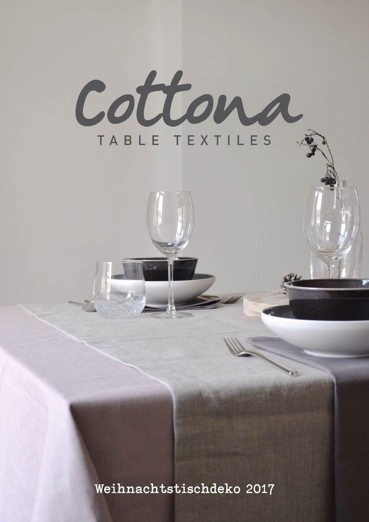 Cottona table textiles | Weihnachtstischdeko magazine 2017 | Dieses magazin möchte ihnen inspirationen für ihre ganz persönliche Weihnachtstafel bieten | cottona.com