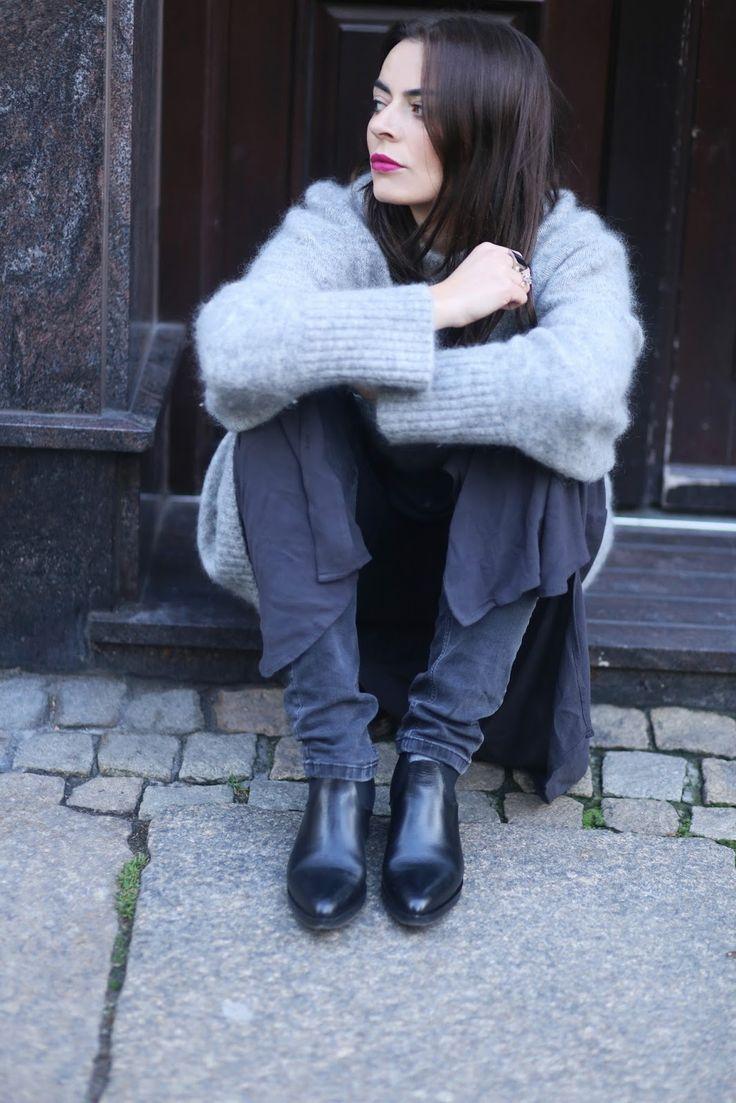 AGNESA ADAMCZAK: Jak nosić warstwy jesienią?