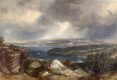 Conrad MARTENS | (View of Sydney from Neutral Bay) c. 1857/8