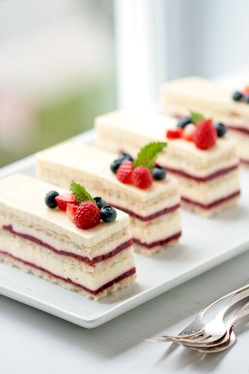 Raspberry Rose Vanilla Birthday Cake