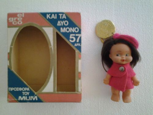 vintage-doll-keychain-el-greco-made-in-Greece