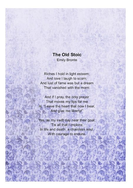 Read, Learn and Shine: The Old Stoic
