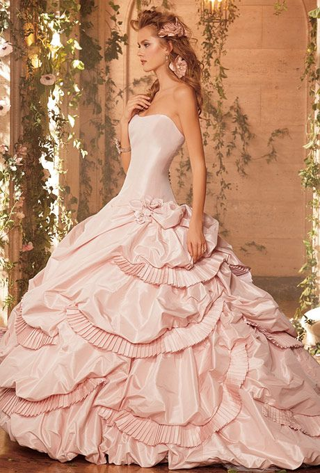 AWESOME!!! Love! Even the old Victorian/ southern belle look lol  Eve Of Milady Wedding Dresses   Brides.com