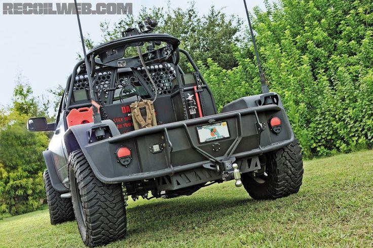 Bad Ass Tactical Dodge Truck!