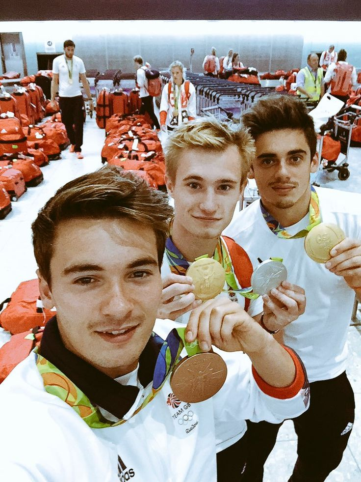 """Jack Laugher on Twitter: """"Wow that reception was crazy! Thank you Great Britain…"""