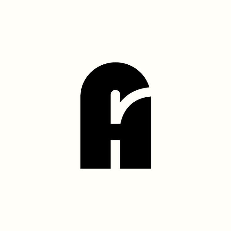 ArH Monogram by Richard Baird. (Available). #logo #branding