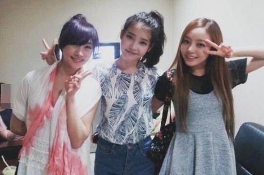 IU、KARA ニコル&ハラと一緒に…「しばらく見られない組み合わせ」 - PICK UP - 韓流・韓国芸能ニュースはKstyle