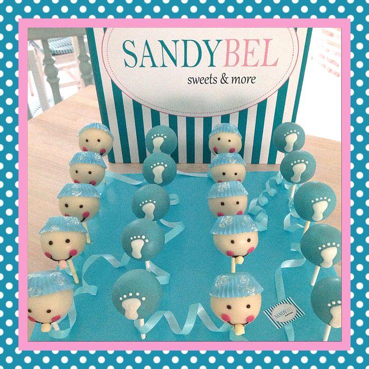 Baby Shower #cakepops by #sandybel #nürnberg #fürth #sweets #babyshower #baby #babyparty #geburt #itsaboy