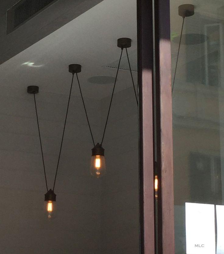 luminaire-multiple-restaurant- Le blog déco de MLC