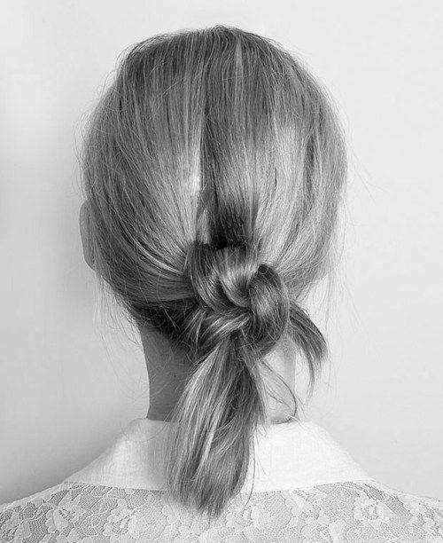 .Hairstyles, Knots Hair, Double Knots, Double Hair, Beautiful, Knots Ponytail, Hair Style, Hair Knots, Hair Buns