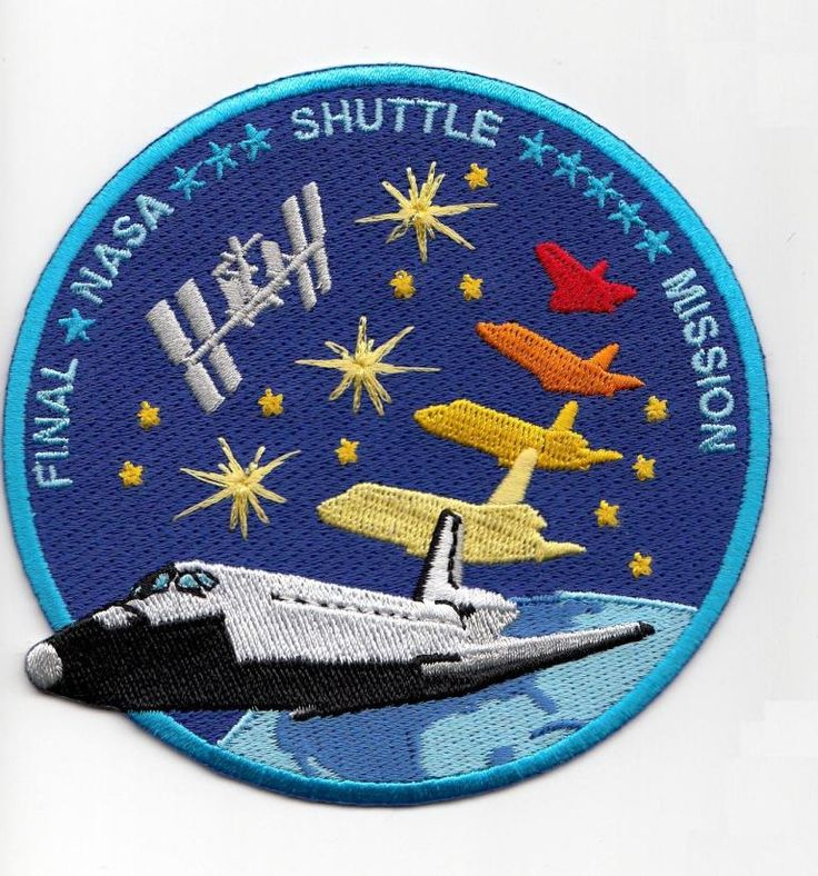 space mission patches | Space Shuttle Final Mission Patch - Limited Edition