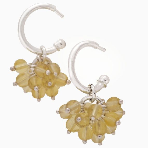 Mimosa Earrings by SaarikorpiDesign on Etsy, €110.00