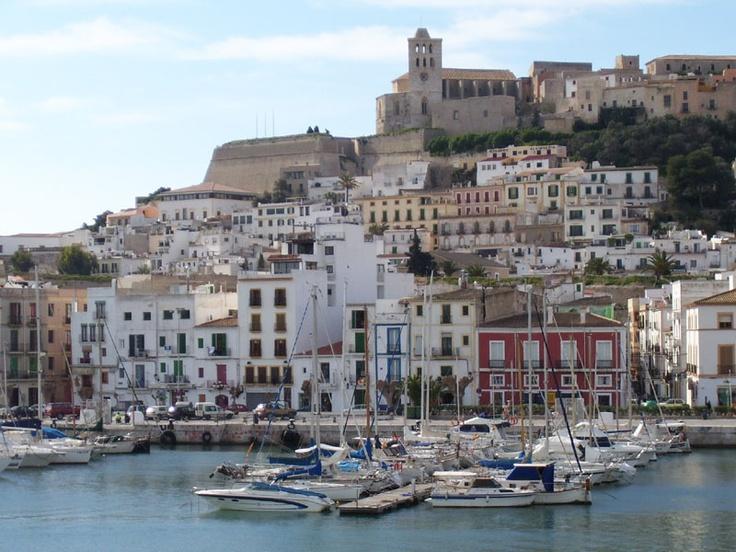 Ibiza-the old harbor