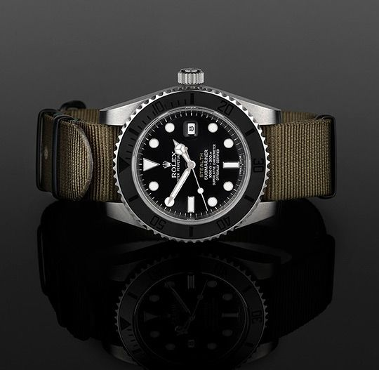 """Have to say these custom Rolexes work for me. London's Project X Designs delivers some """"sub"""" takes on the Rolex Submariner models. Three Submariners mods are part of the series: the Mk III, Mk IV, and Mk V. """"The Mk …"""