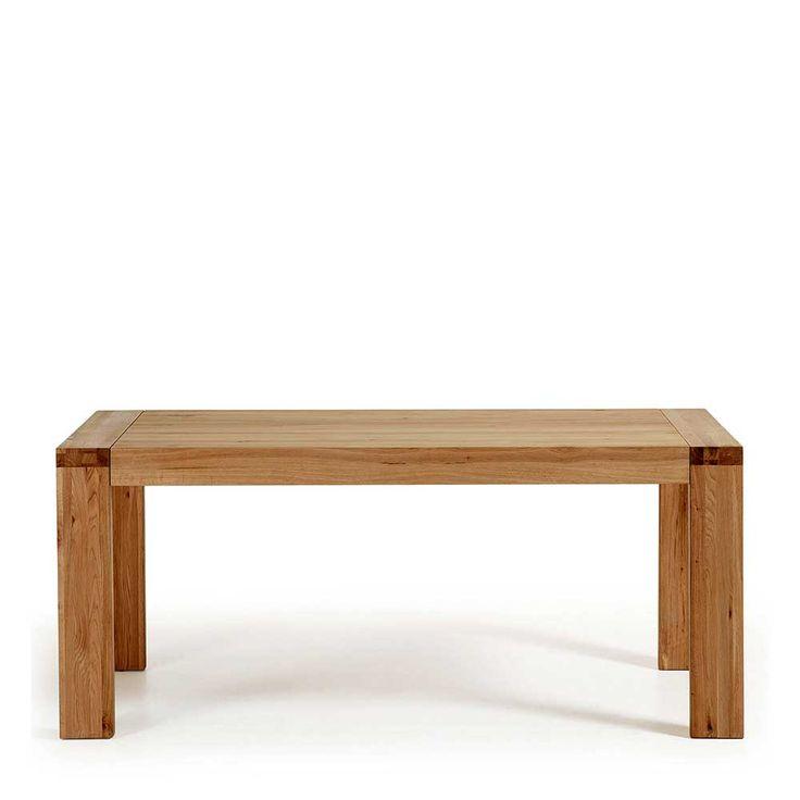 Holztisch aus Eiche Massivholz ausziehbar Jetzt bestellen unter: https://moebel.ladendirekt.de/kueche-und-esszimmer/tische/esstische/?uid=d483b1fd-810e-511d-befd-0b052976fa32&utm_source=pinterest&utm_medium=pin&utm_campaign=boards #tischgestell #vollholztisch #esstische #esstisch #massiv #echtholztisch #tische #holzt #kueche #küchentisch #massivholz #essenstisch #massivholztisch #tisch #esszimmertisch #eßtisch #küchen #esszimmer #holztisch #ausziehtisch Bild Quelle: pharao24.de