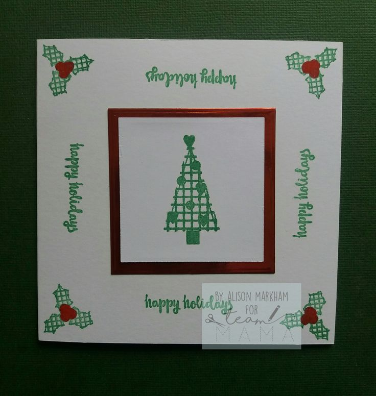 Made using Mama Makes Cosy Christmas stamps