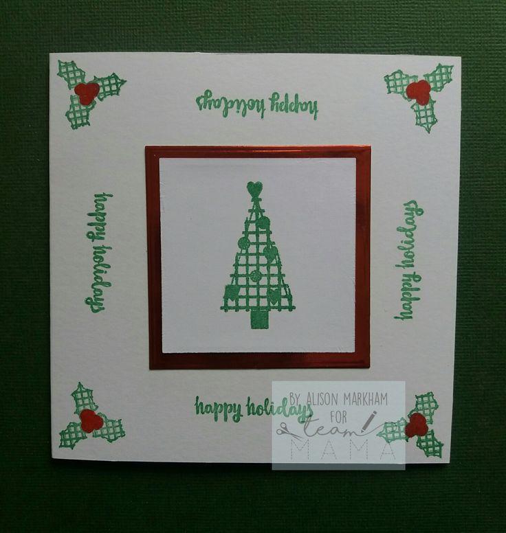 Made using Mama Makes Cosy Christmas stamps