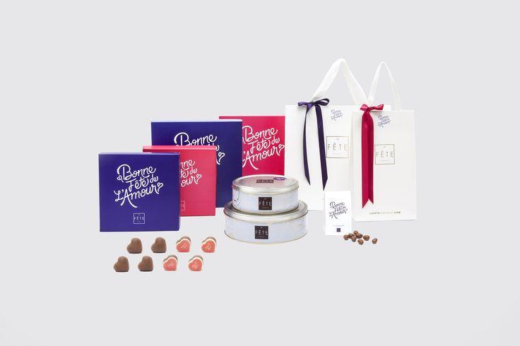 Pay homage to love with the exclusive sweetness of La Fête. Bonne fête de l'amour! #lafetechocolat