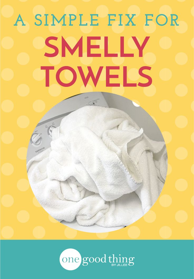If you have towels that don't smell as fresh or aren't as absorbent as they used to be...check out this very simple solution to a very common problem!