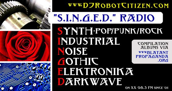 Top Good Best Early New Australian Dark Alternative Radio Club DJs Music Radio Station 2XX Show Podcasts Podcast Mixes Programme Program List Host Electro Elektro Gothic Electronique Musique Industrial Electronica Synth Pop Wave Musician Radioshows Producer DJ Robot Citizen