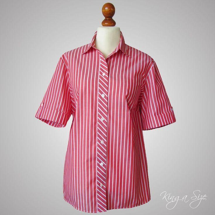 Walbusch extra glatt bügelfrei Damen Bluse / Hemdbluse / Blusenhemd Cotton Gr.48
