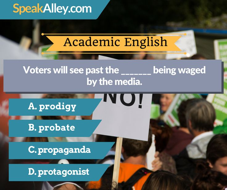 #Academic #English #Quiz #Vocabulary Hello IELTS, TOEFL and other English test takers. Here is your quiz for today. Find the answer at http://lnk.al/36eQ  #TOEFL #IELTS #GRE #Speaking #SpeakAlley