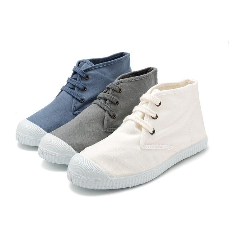 Zapatillas Bota Lona. Calzado Pisamonas tu marca favorita