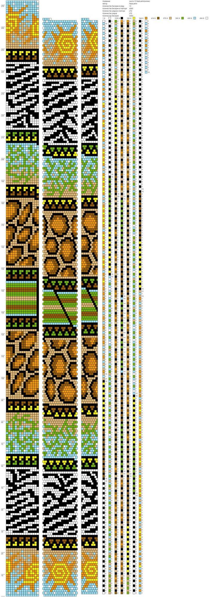 Wayuu Mochila pattern animal print