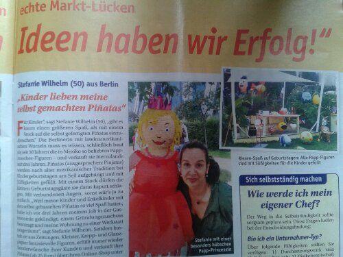 Neuer Presseartikel  #Berlin #bestellen #Deko #Dekoration #Deutschland #Fest #Firmenfeier #Frankfurt #Geburtstag #Geschenkverpackung #Hamburg #kaufen #Köln #Mexiko #München #Online-Shop #Party #Piñata #Pinata kaufen #Piñata-Spiel #Spiel