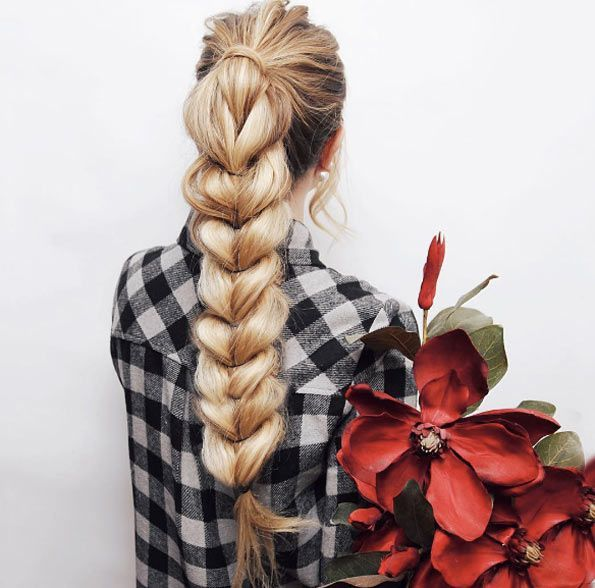 Thick inverted braid by Kassandra Poleshuk