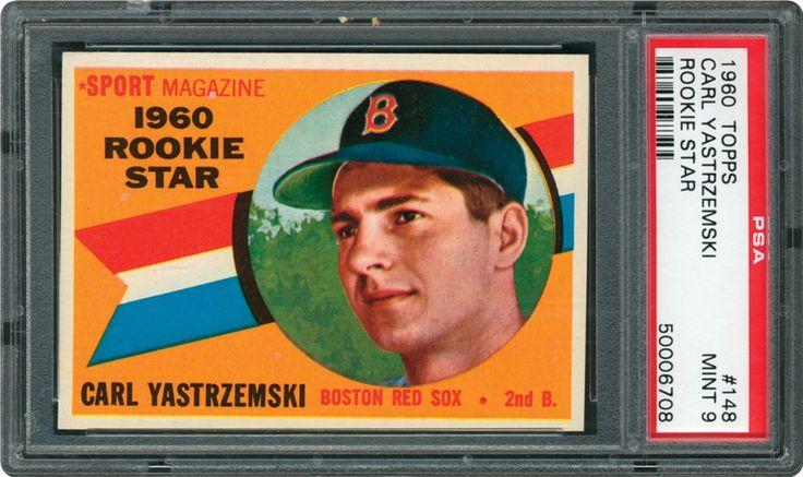 1960 topps baseball cards psa smr price guide carl