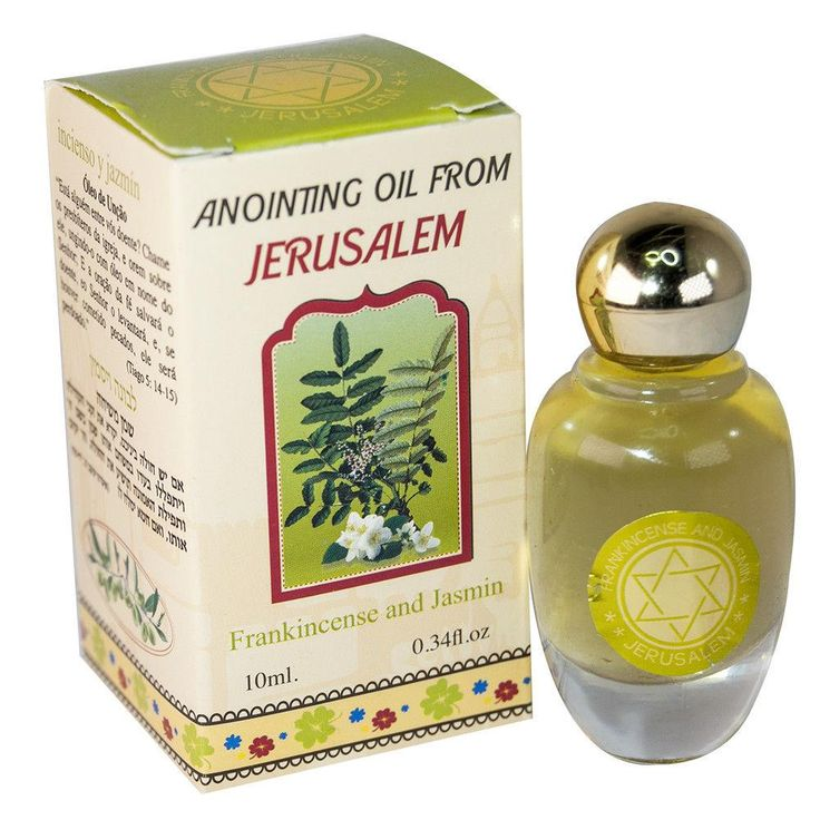 Anointing Oil Frankincense & Jasmine Blessing from