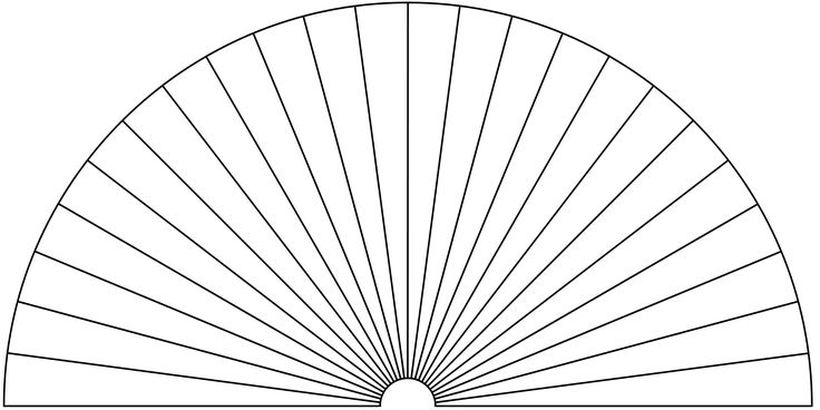 Dowsing Chart, 24 Pieces. You can use this picture to make your own Dowsing Chart, by adding any text or symbols you want.