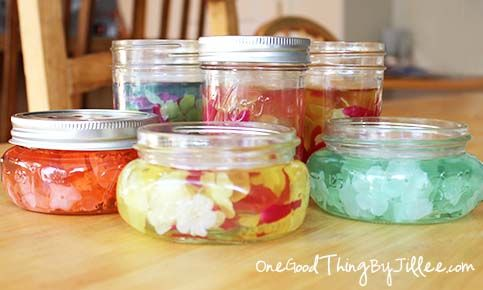 Make Your Own Gel Air Fresheners