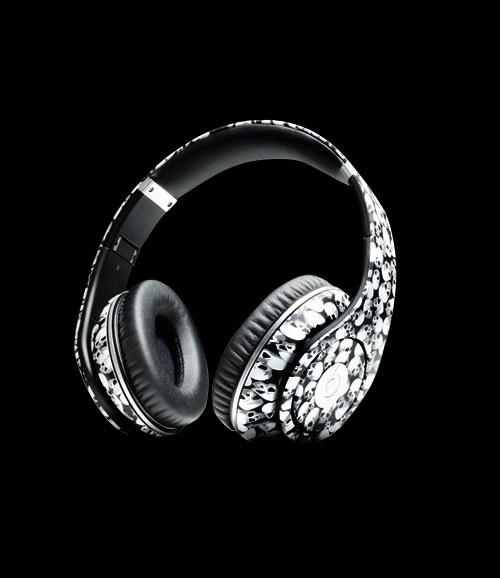 Beats By Dr.Dre Studio Skull High Definition On Ear Headphones