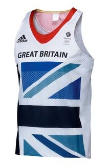 New GB 2012 Olympic running bib. Want.