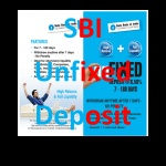 State Bank of India Unfixed Deposits offer High Rate of Return for your deposit and at the same time a High Liquidity just like a savings bank account