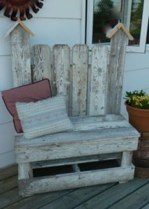 Handcrafted Rustic Bench