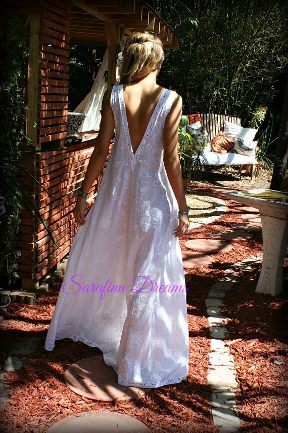 100% algodón camisón blanco bordado algodón ojal encaje ropa