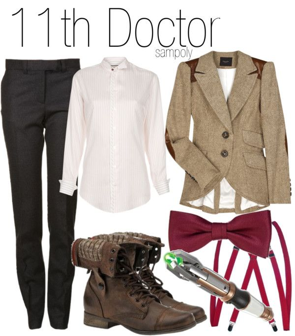 Doctor Who Inspired Clothes! Lol, Eleventh Doctor http://geekxgirls.com/article.php?ID=2164