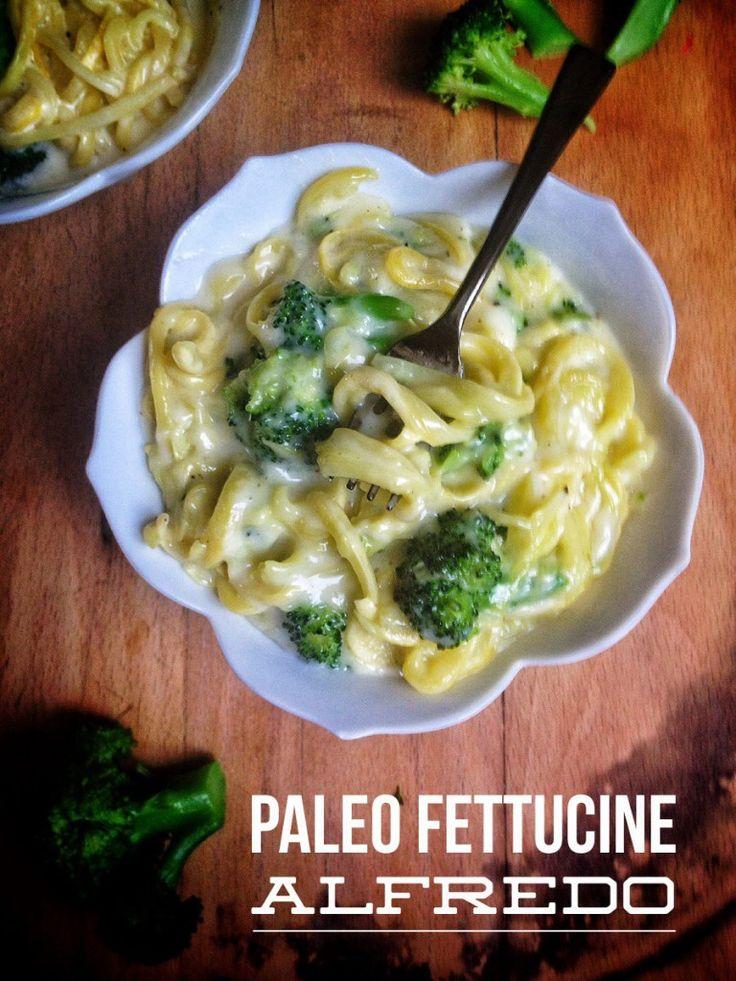 Paleo Fettuccine Alfredo. (Gluten/Grain/Dairy Free & Primal)   Brittany Angell