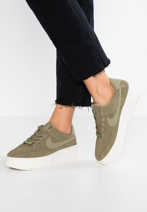 on sale 51998 474ea Nike Sportswear AIR FORCE 1 SAGE - Trainers - trooper phantom -  Zalando.co.uk