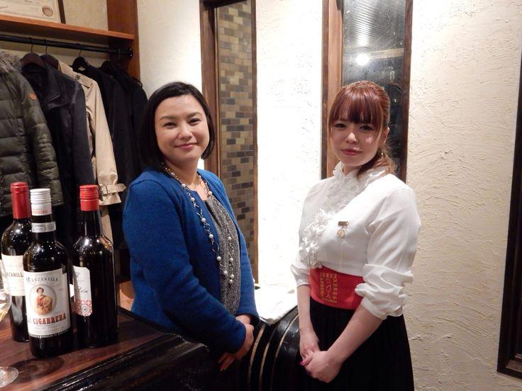 Me and Ms. Tomomi Watanabe, Venenciadora at Fiesta de la Manzanilla on 16 December 2014